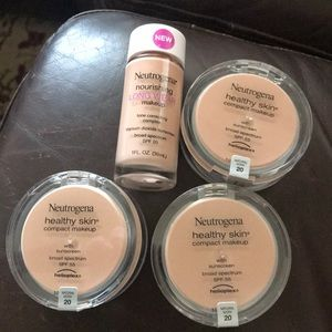 Neutrogena 3 compact makeup & 1 long wear #20
